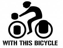 With this bycicle _ Logo
