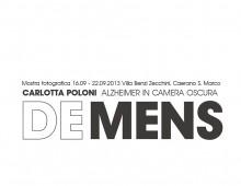 Italy/Villa Benzi Zecchini _ Caerano S.Marco _ Alzheimer in camera oscura